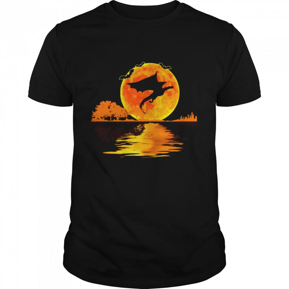 I Love Dragon Halloween Vintage Sunset T-shirt Classic Men's T-shirt