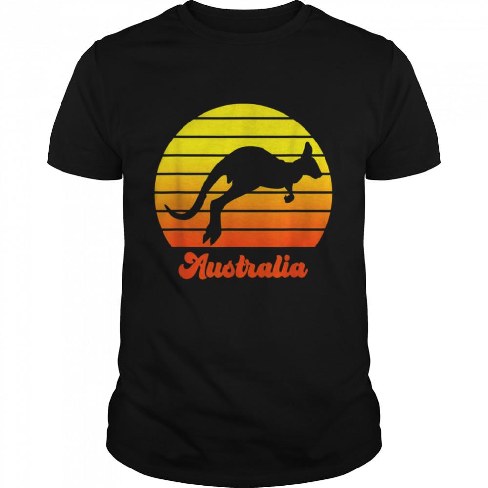 Backpacker Wildlife Zoo Keeper Geschenk Australien Shirt