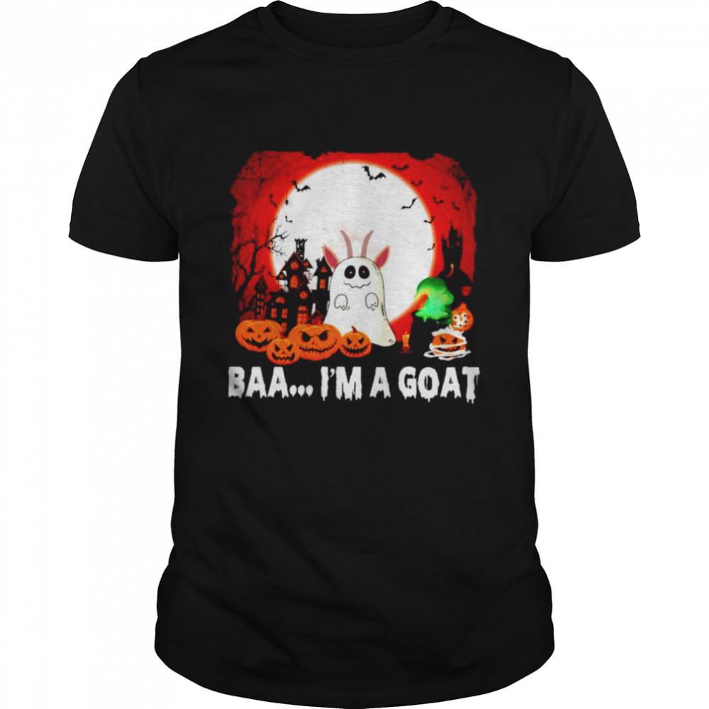 Ghost baa I'm a goat Halloween shirt