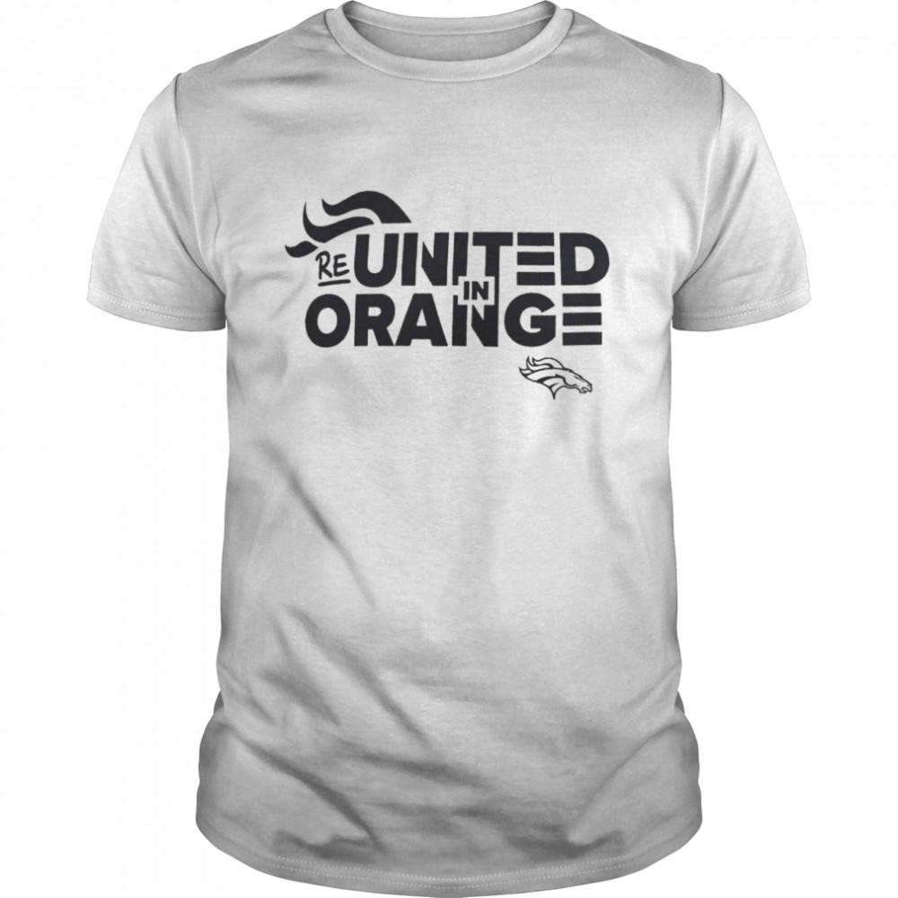 Denver Broncos reunited in orange shirt