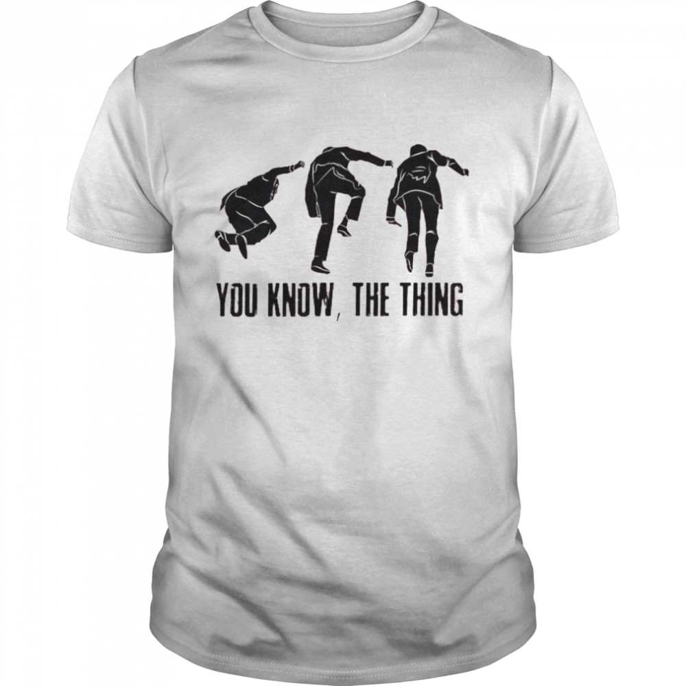 Biden slips thrice you know the thing shirt