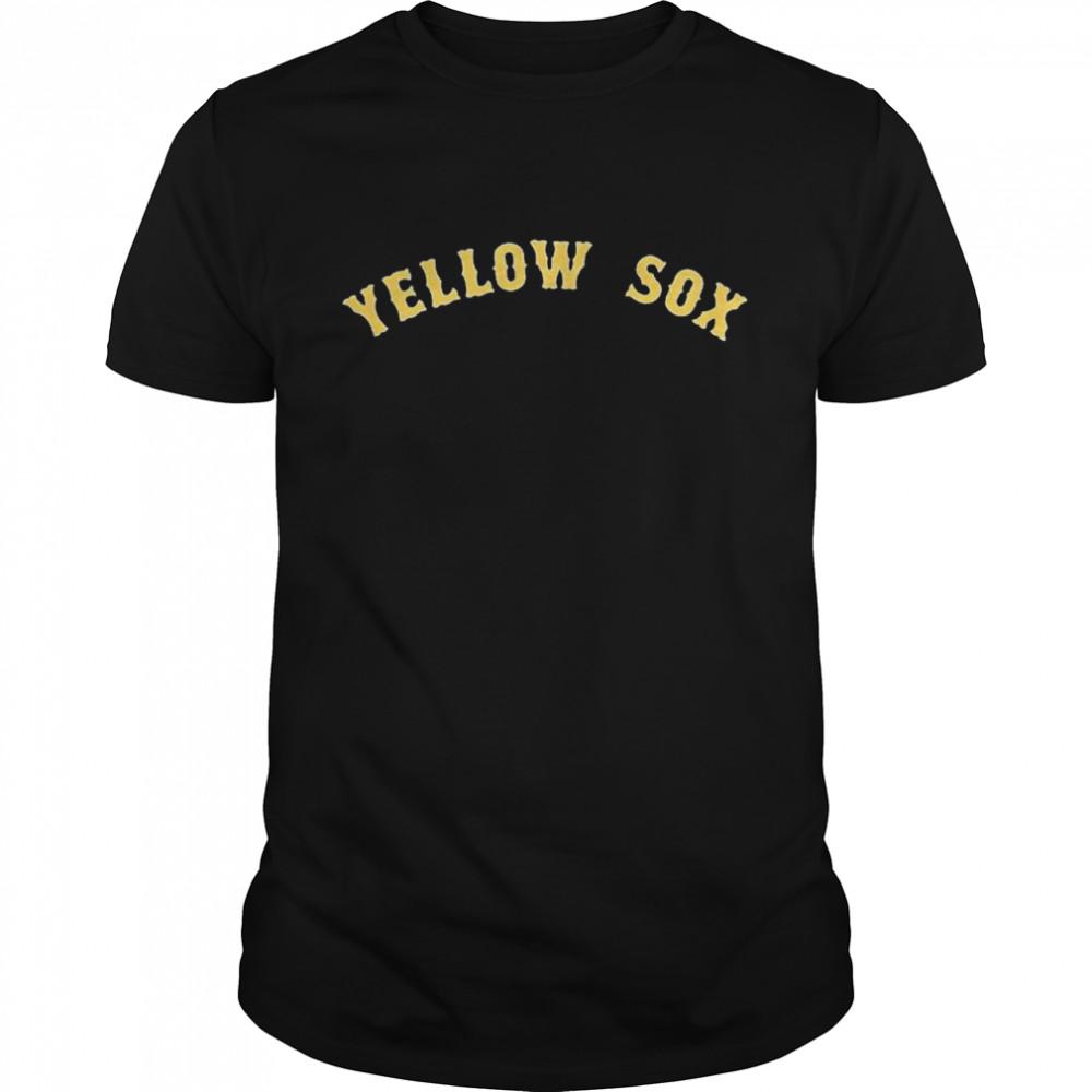 Boston Yellow Sox shirt