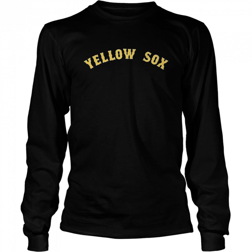 Boston Yellow Sox shirt Long Sleeved T-shirt
