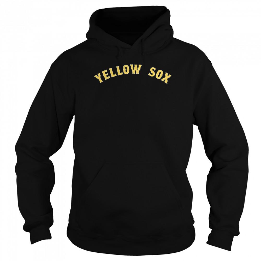 Boston Yellow Sox shirt Unisex Hoodie
