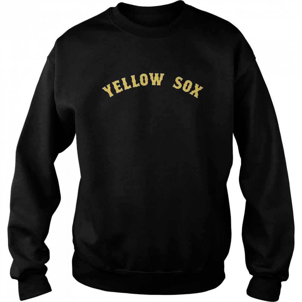 Boston Yellow Sox shirt Unisex Sweatshirt