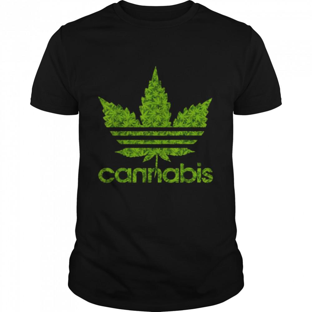 Cannabis Leaf 420 T-Shirt