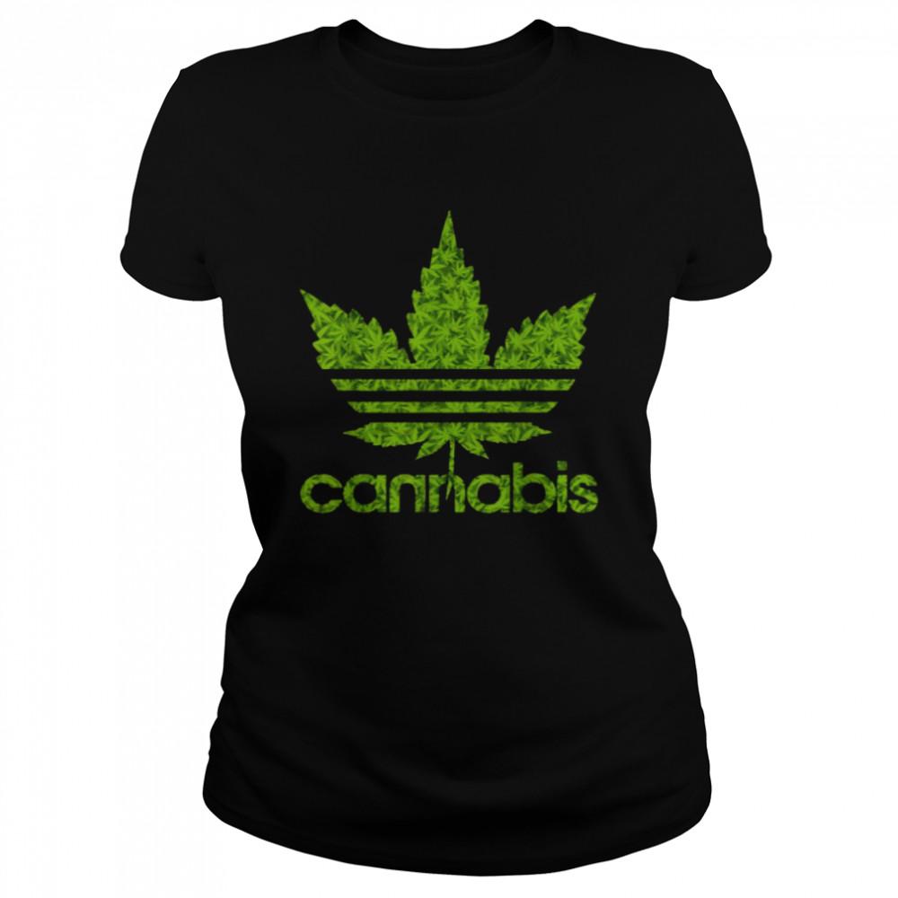 Cannabis Leaf 420 T- Classic Women's T-shirt