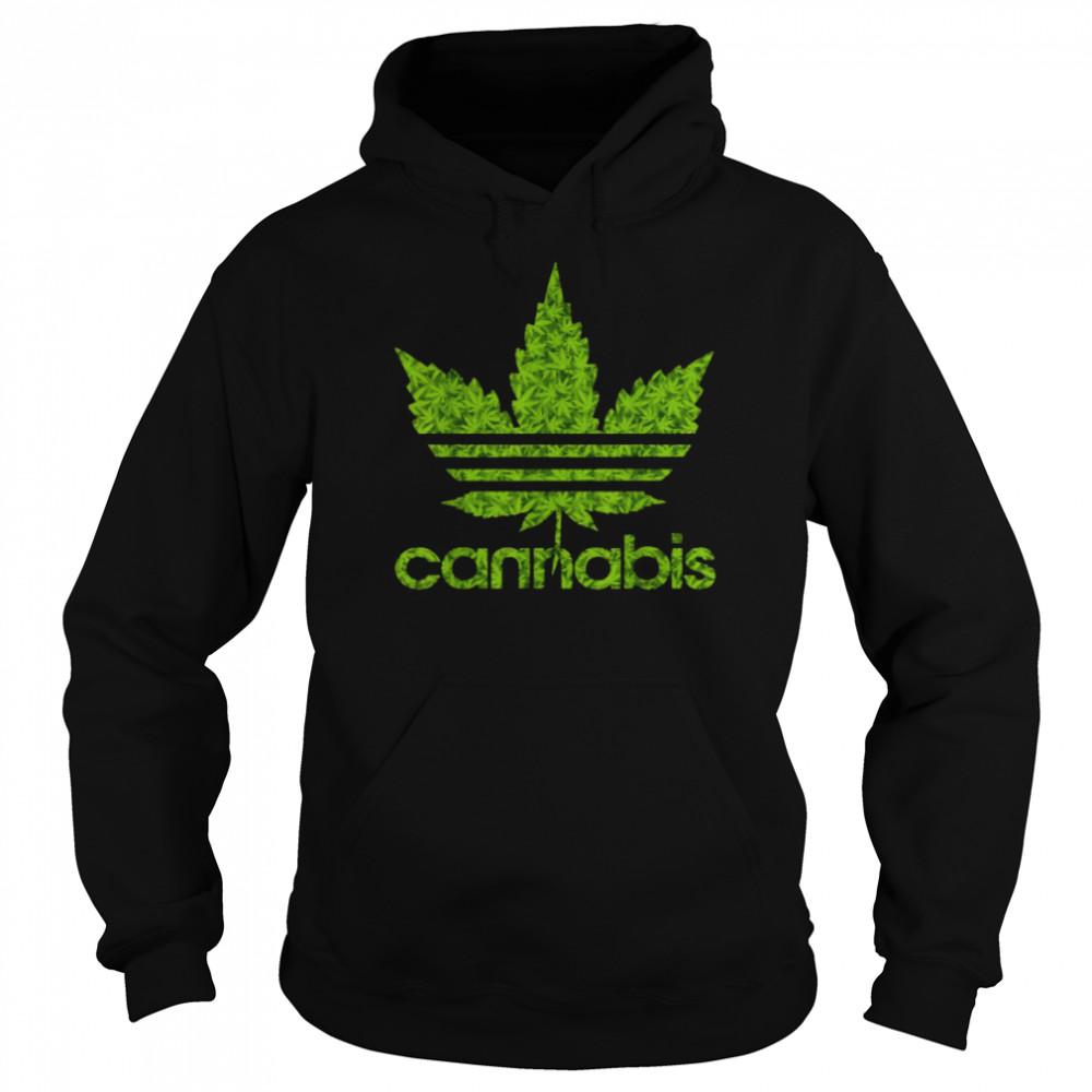 Cannabis Leaf 420 T- Unisex Hoodie