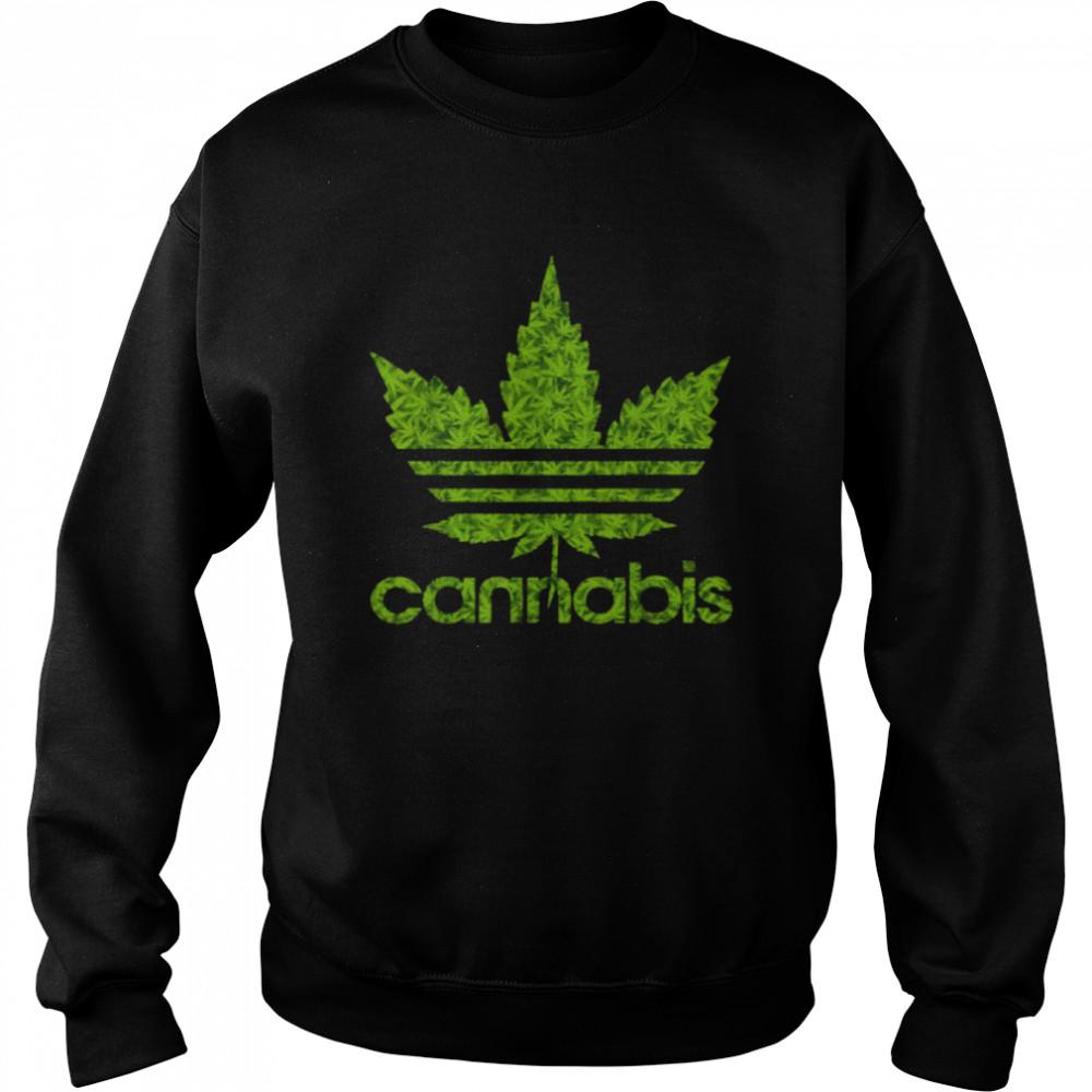 Cannabis Leaf 420 T- Unisex Sweatshirt