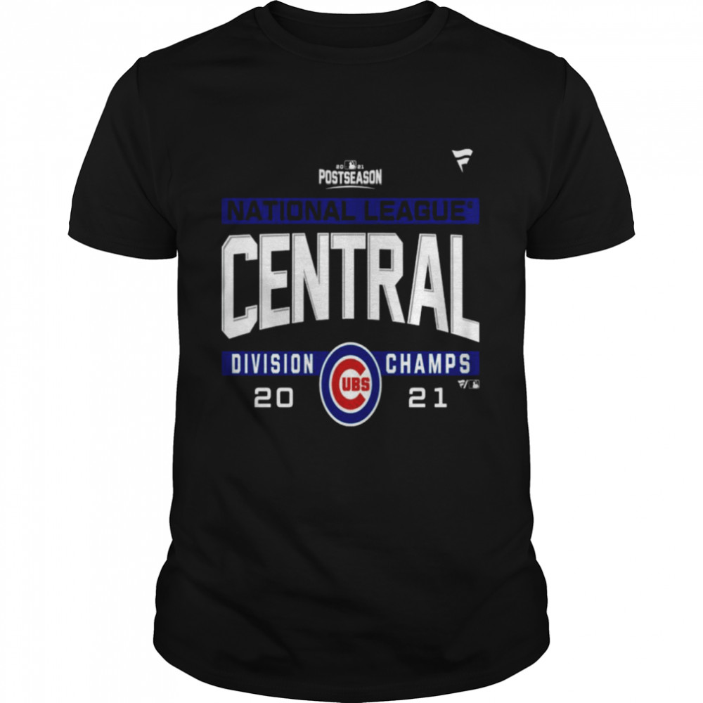 Chicago Cubs National League NL Central Division Champions 2021 sport shirt