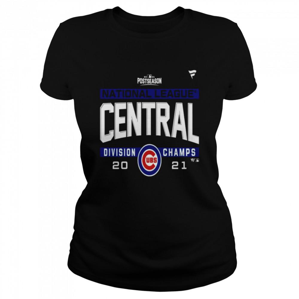 Chicago Cubs National League NL Central Division Champions 2021 sport shirt Classic Women's T-shirt