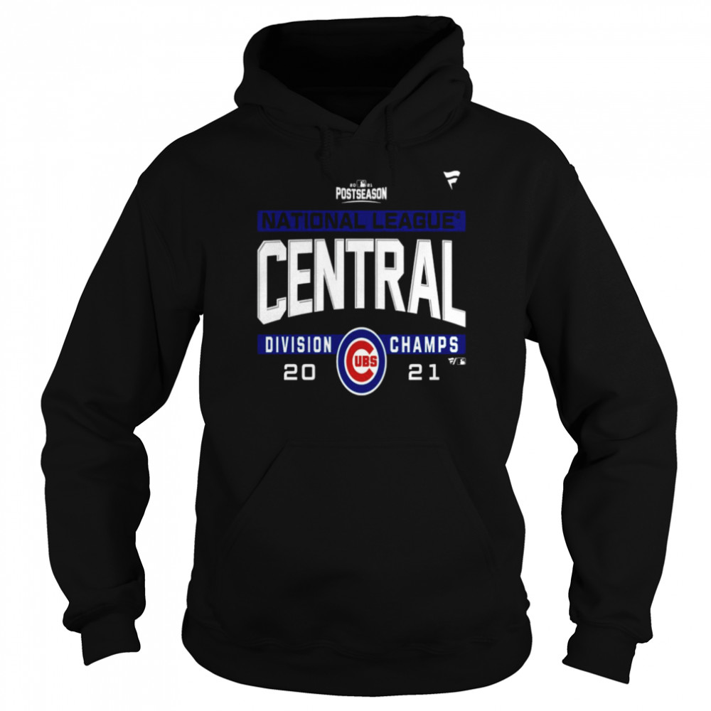 Chicago Cubs National League NL Central Division Champions 2021 sport shirt Unisex Hoodie