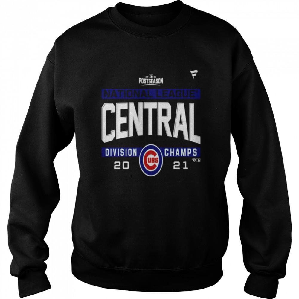 Chicago Cubs National League NL Central Division Champions 2021 sport shirt Unisex Sweatshirt