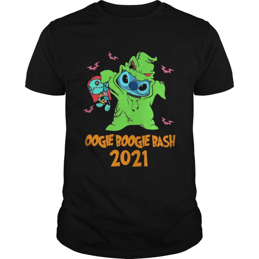 Stitch Oogie Boogie Bash 2021 Halloween T-shirt
