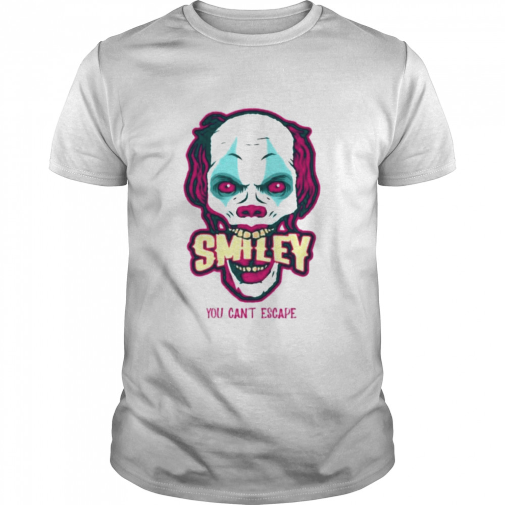 Frankenstein smiley you can't escape shirt