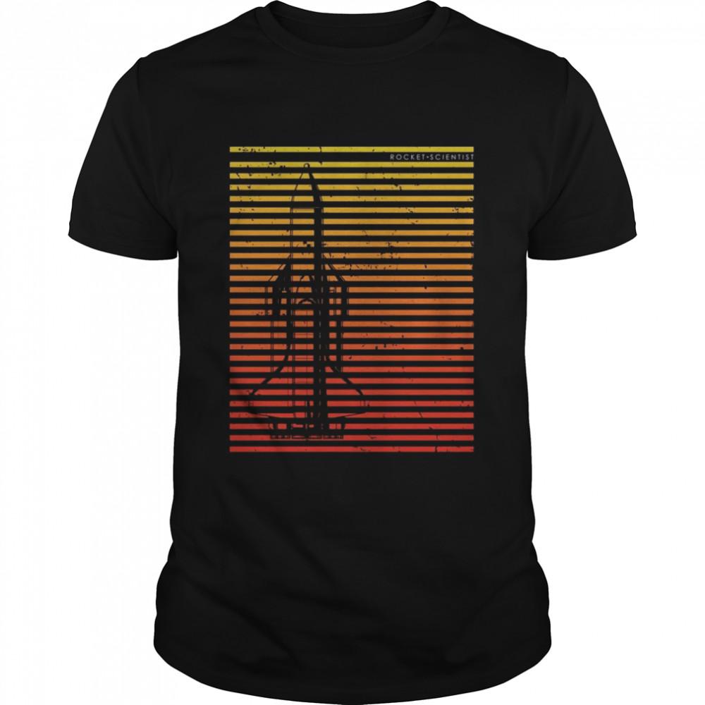 Raketenraumschiff Raumfahrttechnik Shirt
