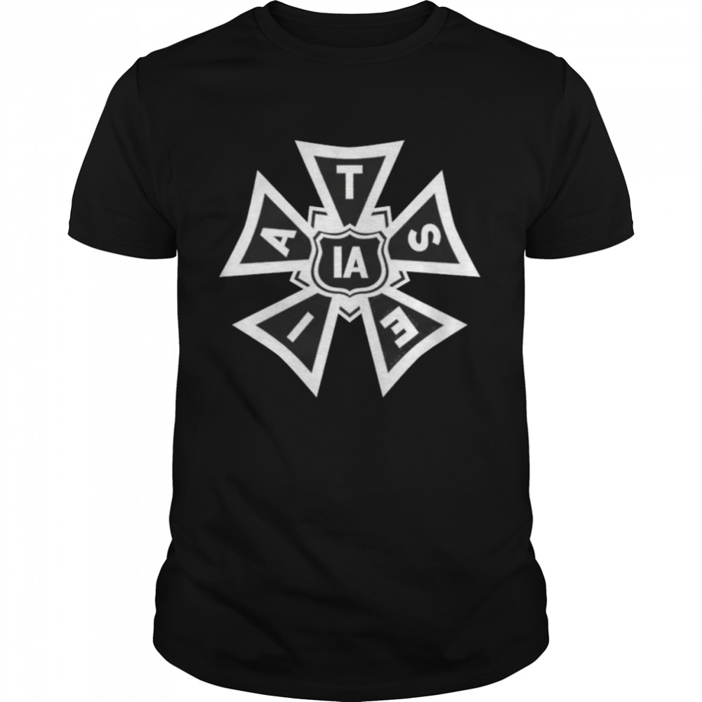 IATSE logo black and white shirt