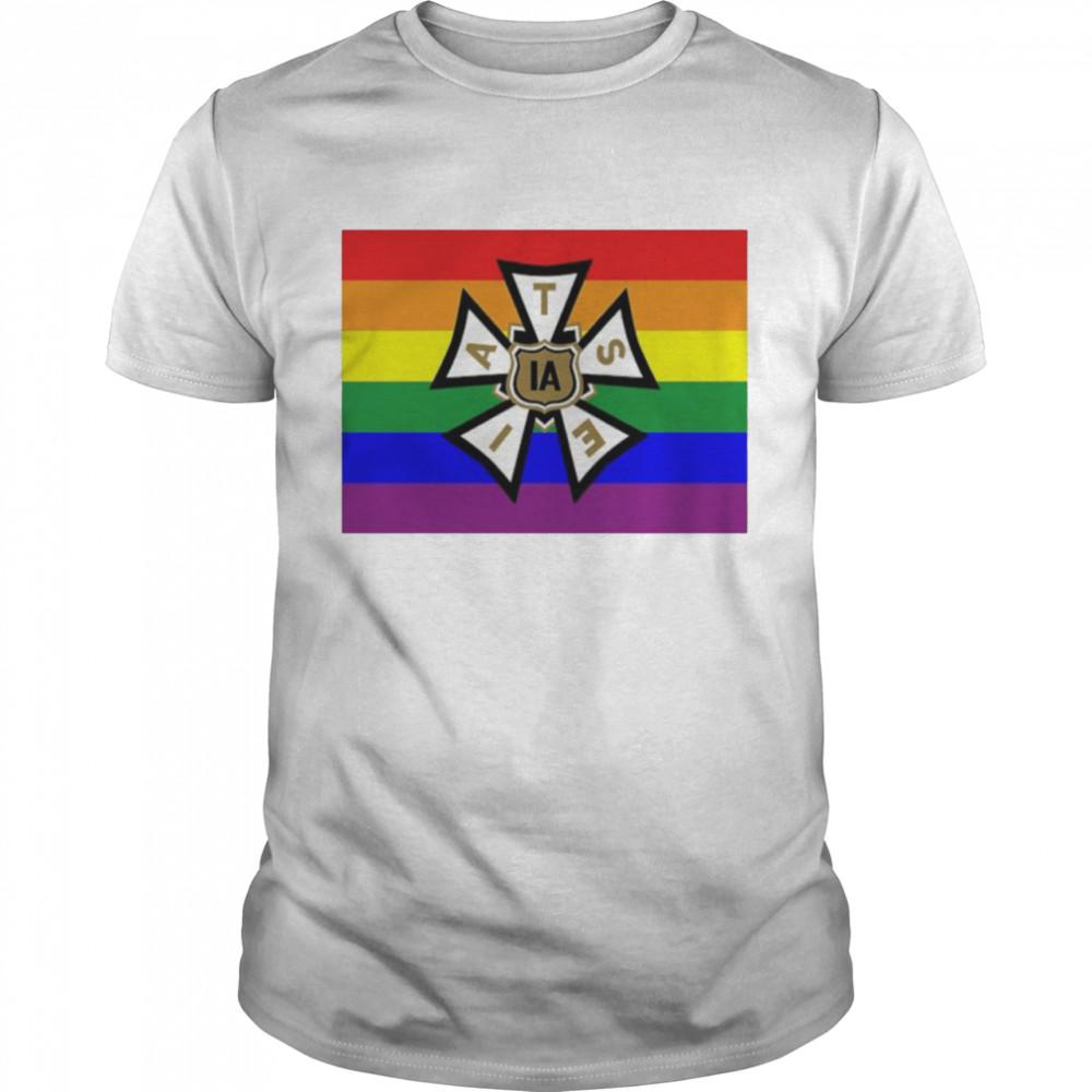 LGBT pride IATSE shirt