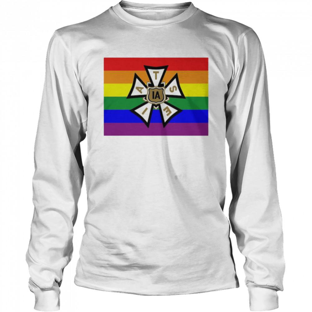 LGBT pride IATSE shirt Long Sleeved T-shirt