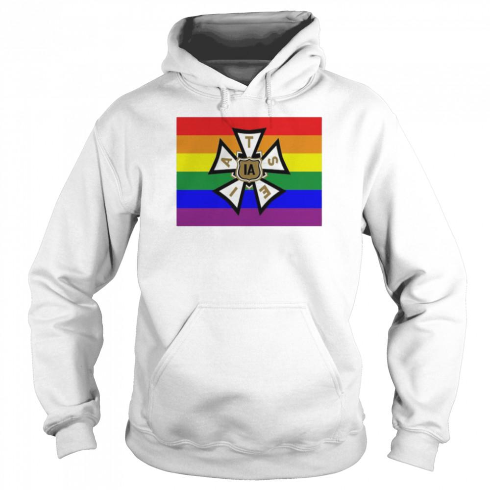 LGBT pride IATSE shirt Unisex Hoodie