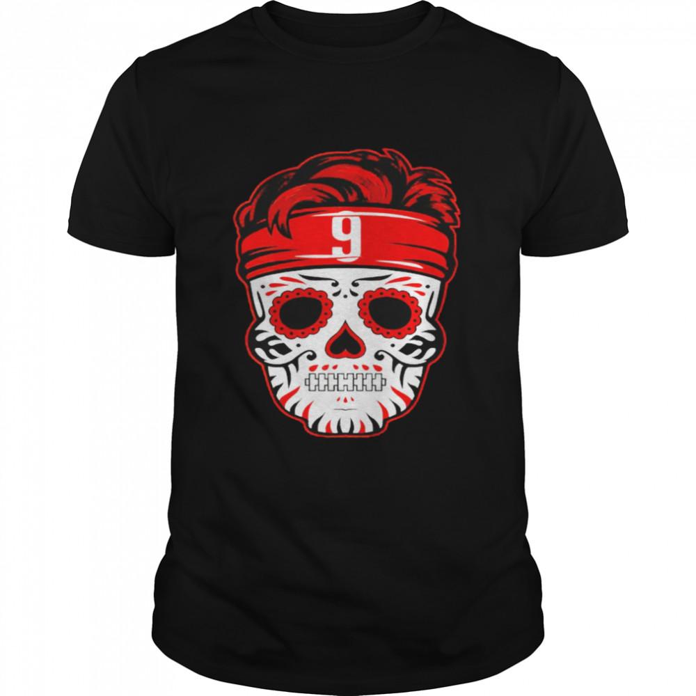 Sugar Skull Joe Burrow shirt