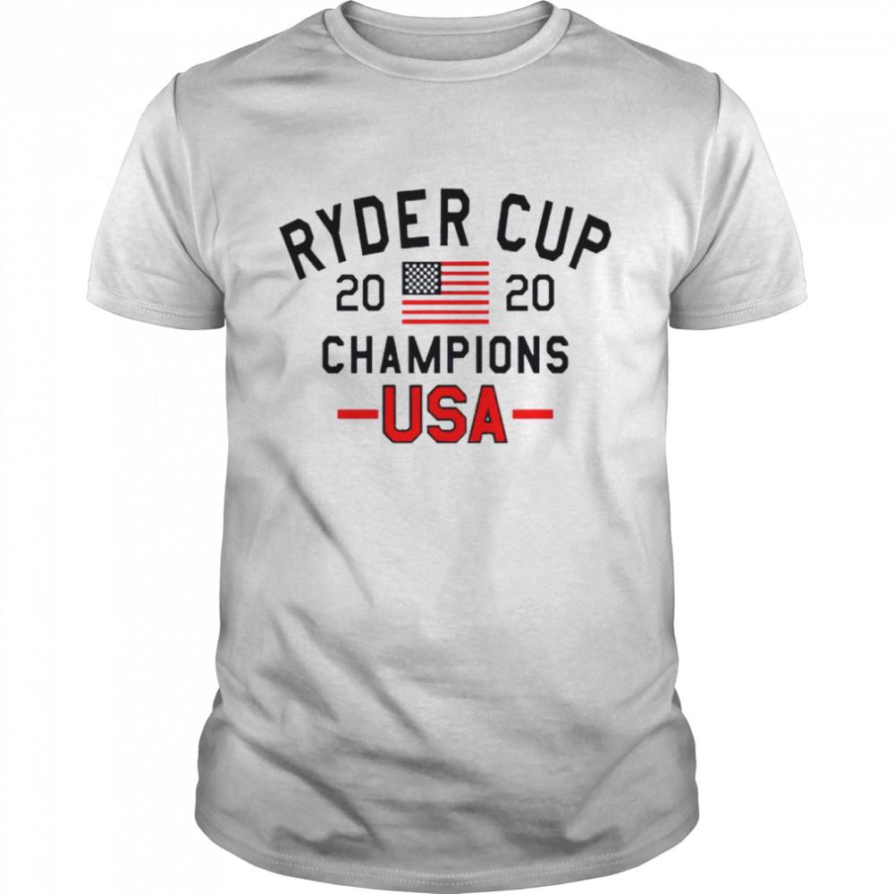 Ryder Cup 2020 Champions USA shirt
