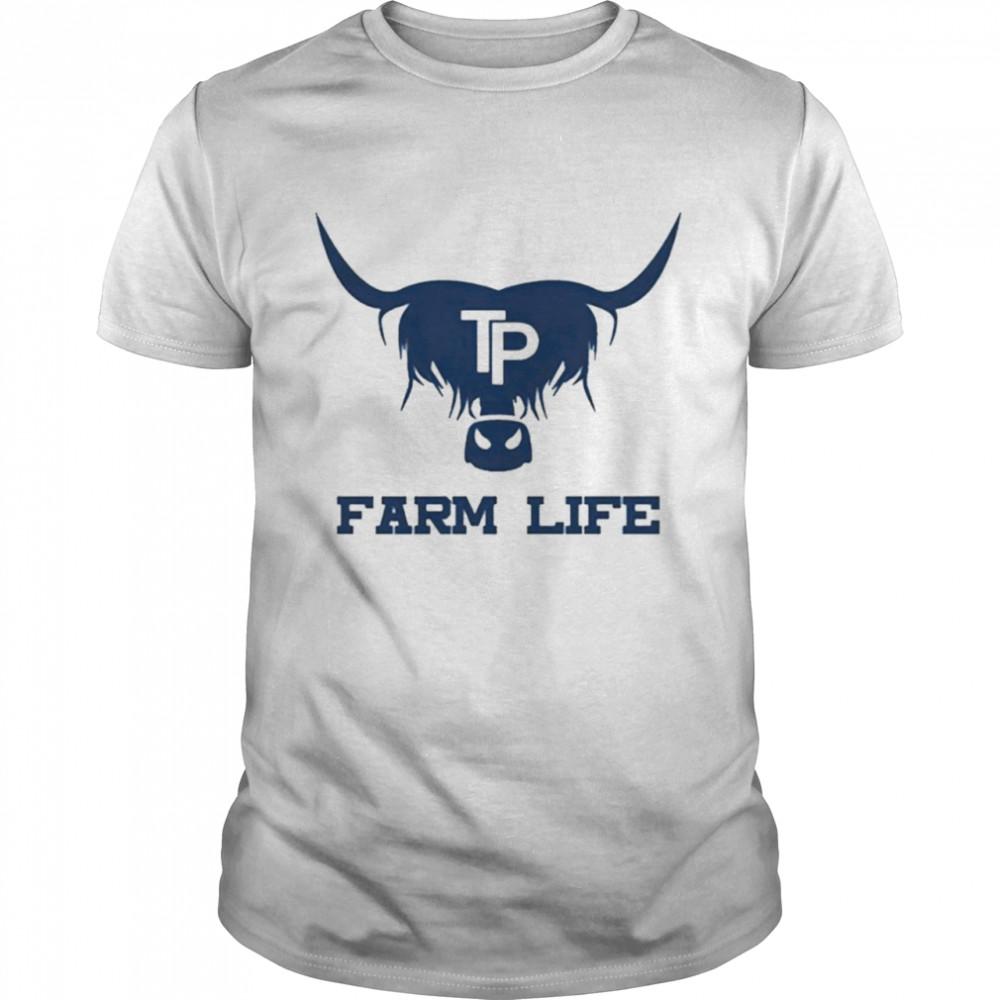 Tom Pemberton farm life logo T-shirt