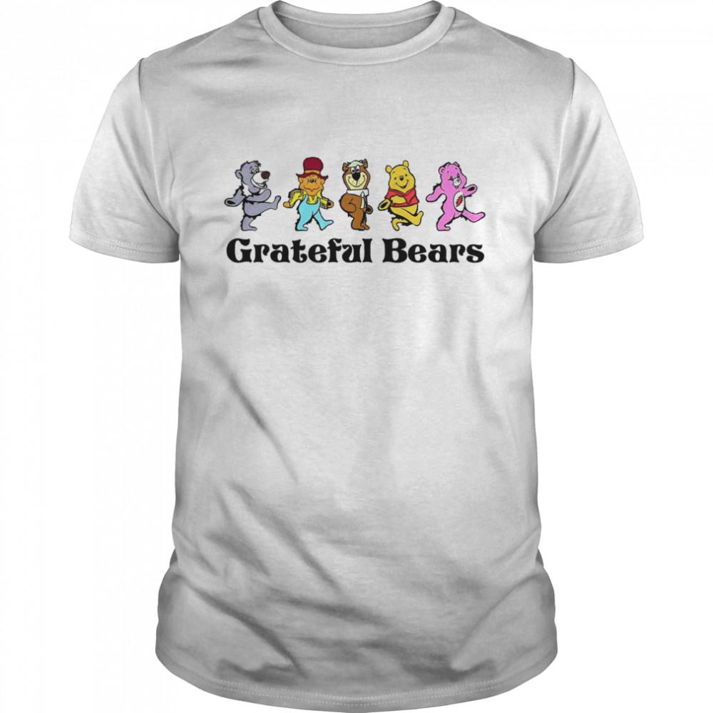 Grateful bears abbey road shirt