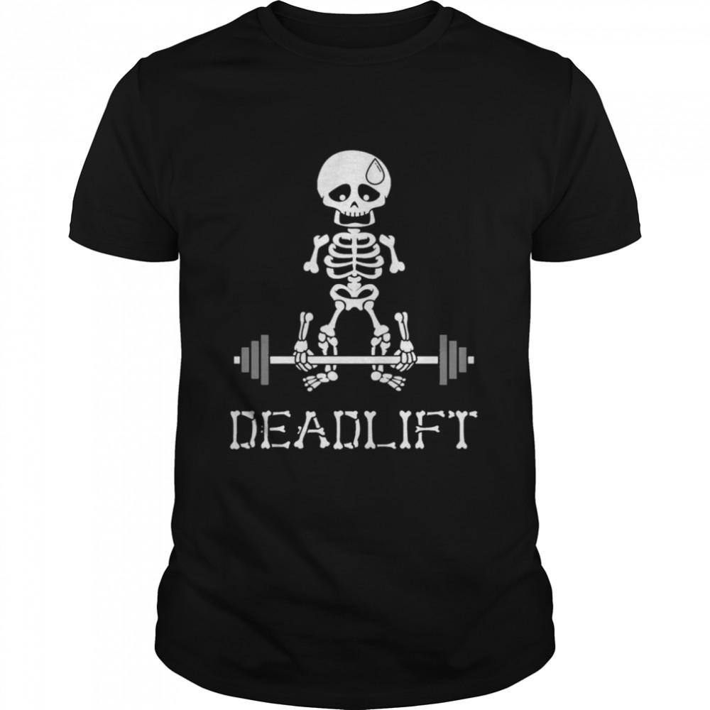 Skeleton Fitness Deadlift shirt