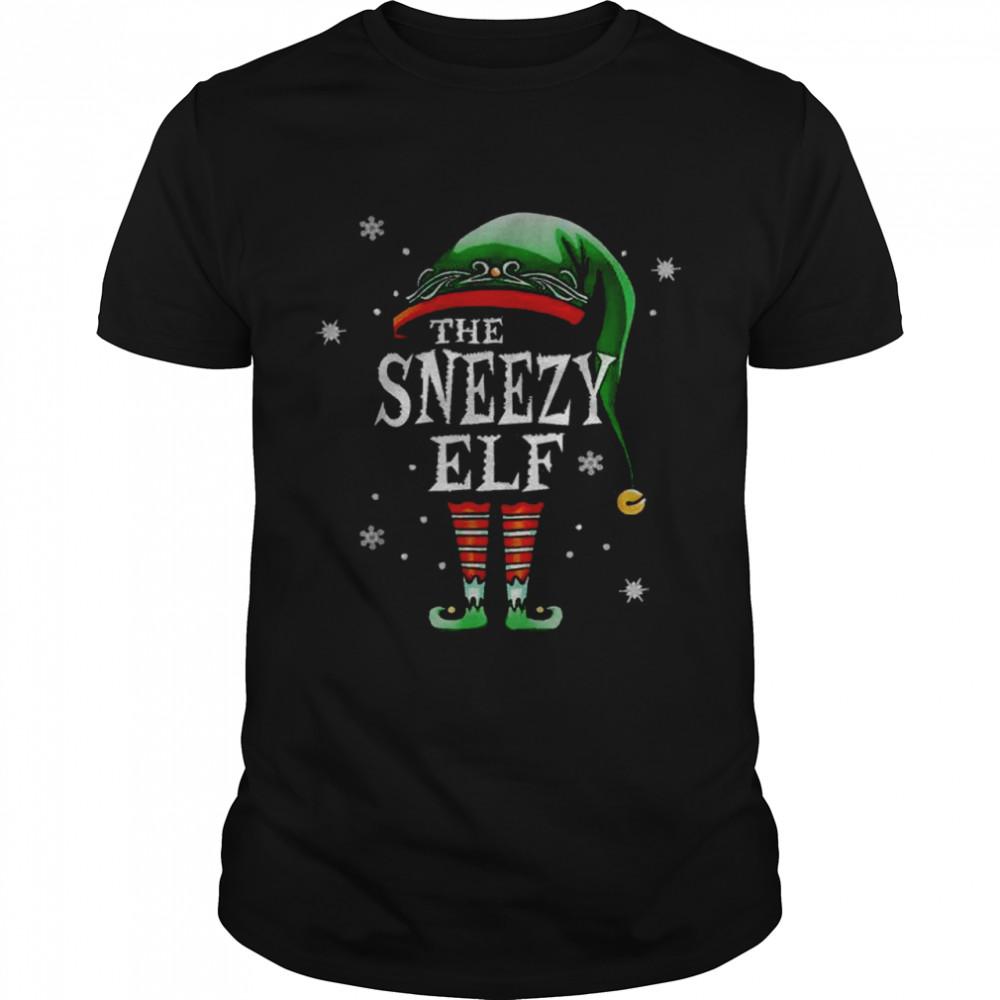 The Sneezy Elf Christmas shirt
