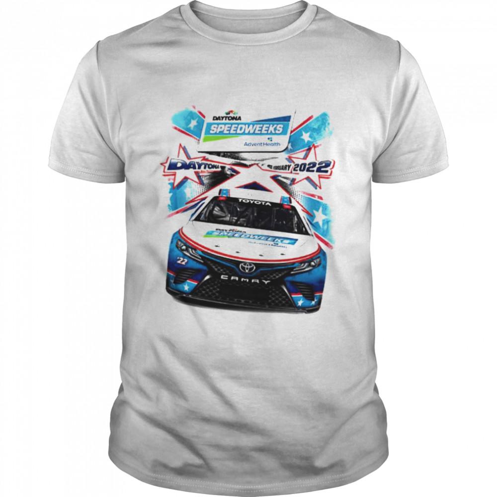 Top 2022 Daytona 500 checkered flag speedweeks shirt