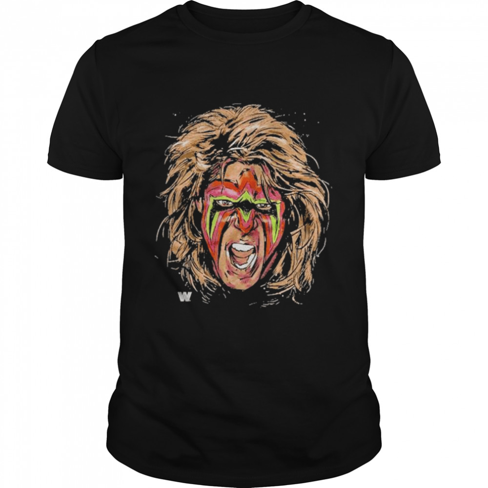 ultimate warrior scream shirt