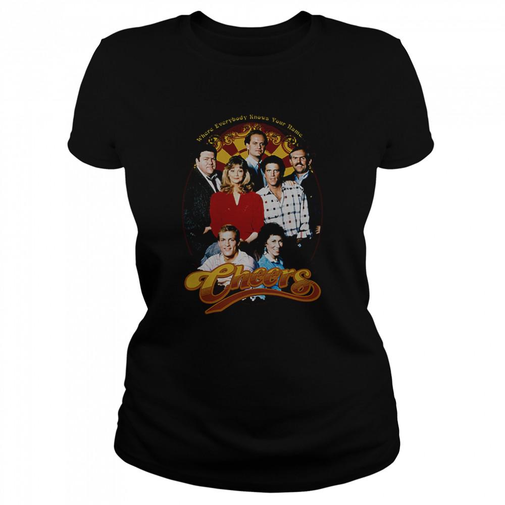 Cast Cheers T- Classic Women's T-shirt
