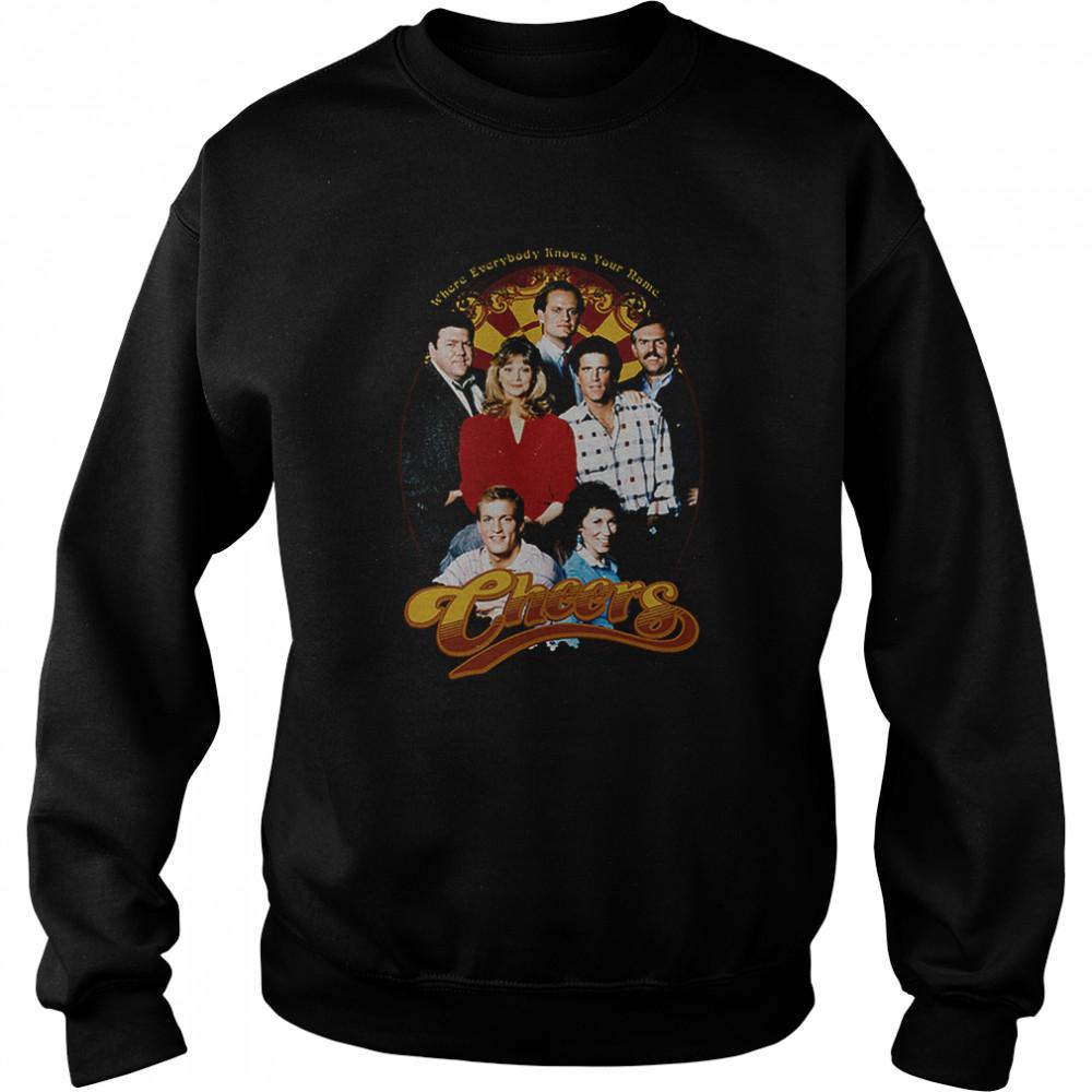 Cast Cheers T- Unisex Sweatshirt
