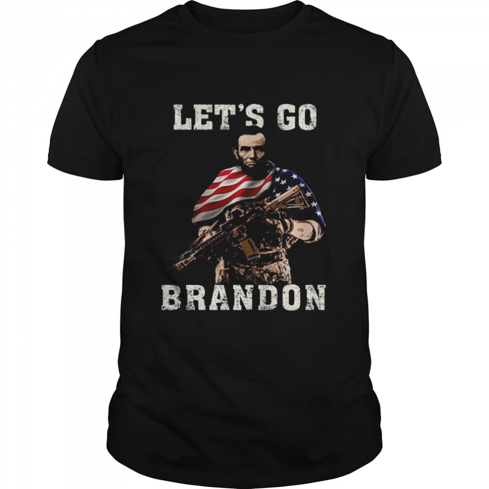 American Flag Let's Go Brandon Shirt