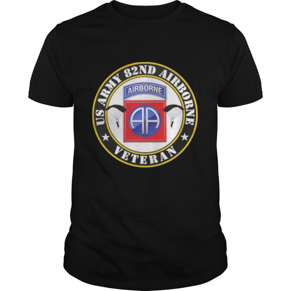 Us army 82nd airborne veteran shirt