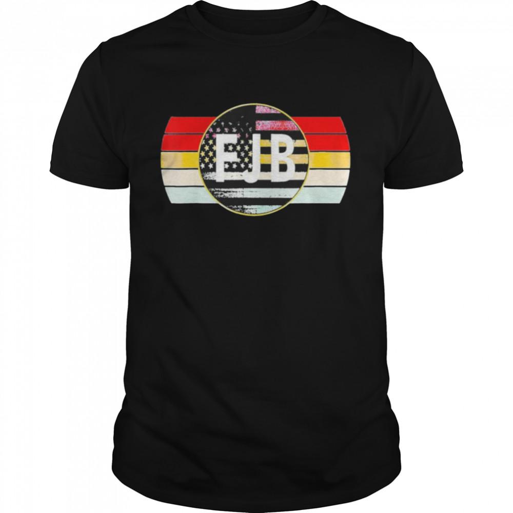 JB Let's Go Brandon Pro USA Flag Political Persuasion Biden Tee Shirt