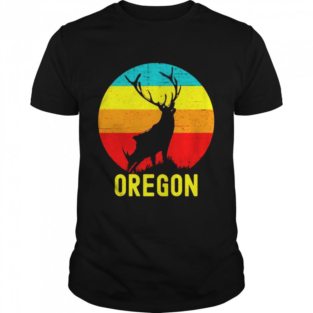 Oregon Elk Vintage T-shirt