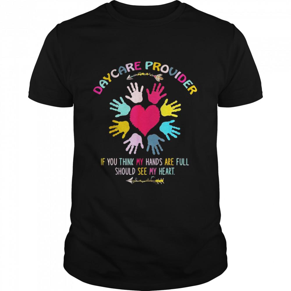 Daycare Provider Childcare Prek Teacher Appreciation T-shirt