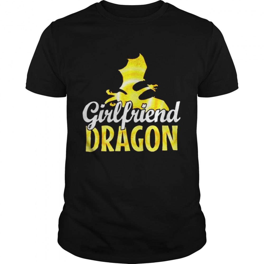 Girlfriend Dragon Lover T Shirt