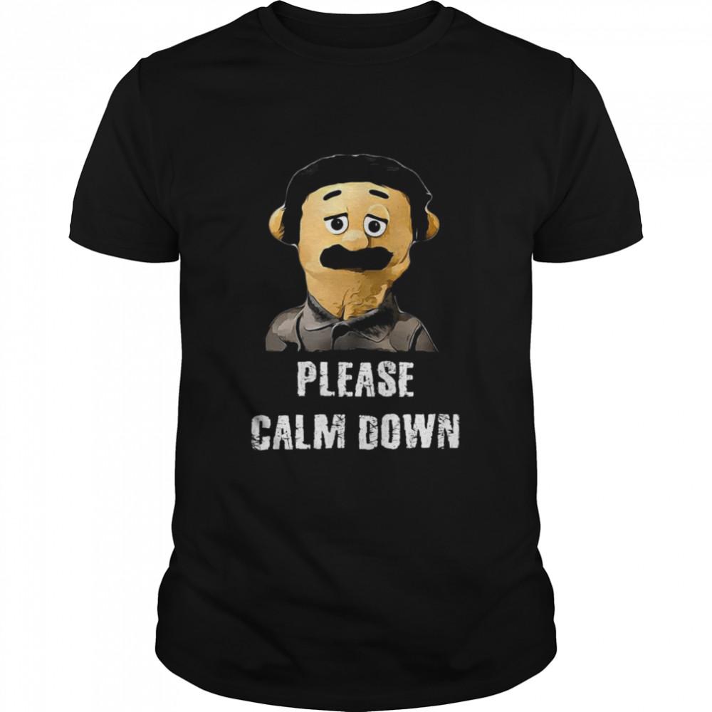 Please Calm Down Awkward Puppets 2021 Shirt