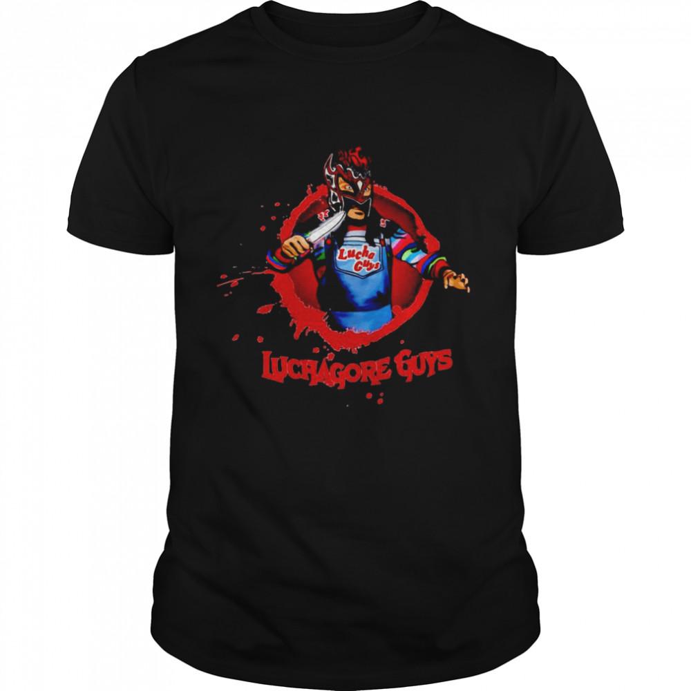 Samuray Del Sol Luchagore Guys T-shirt