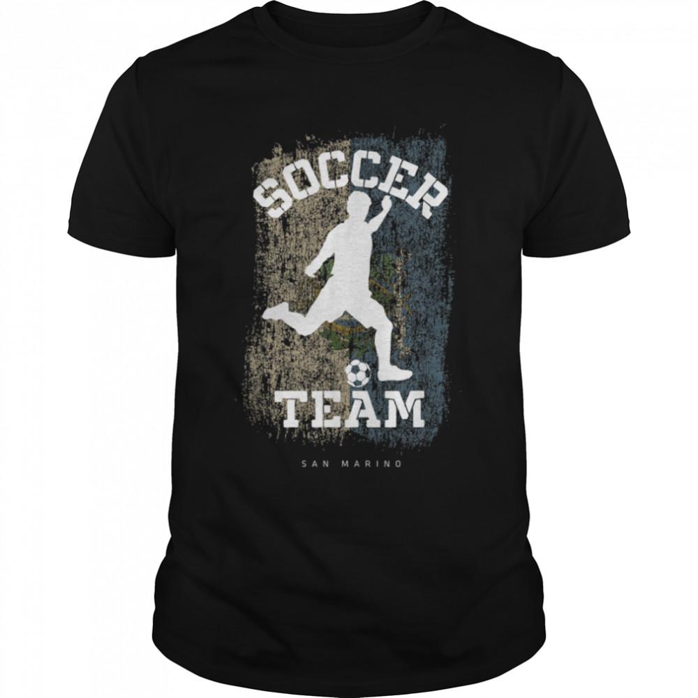 Soccer Samoa Flag Football Team Soccer Player T-Shirt B09JPDXGWW