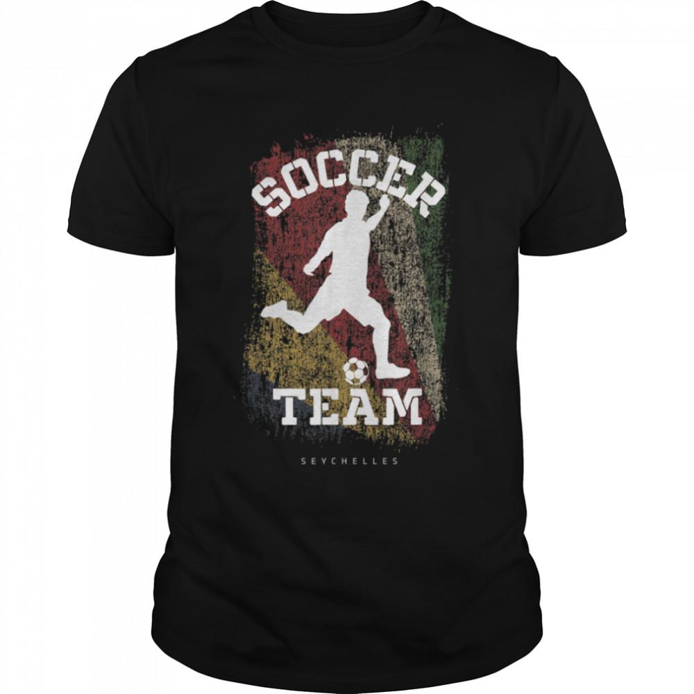 Soccer Serbia Flag Football Team Soccer Player T-Shirt B09JPFY81Y