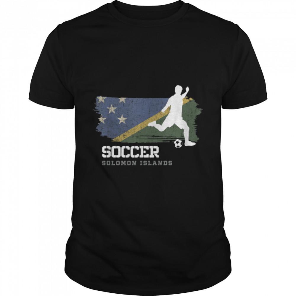 Soccer Slovenia Flag Football Team Soccer Player T-Shirt B09K238B3Q