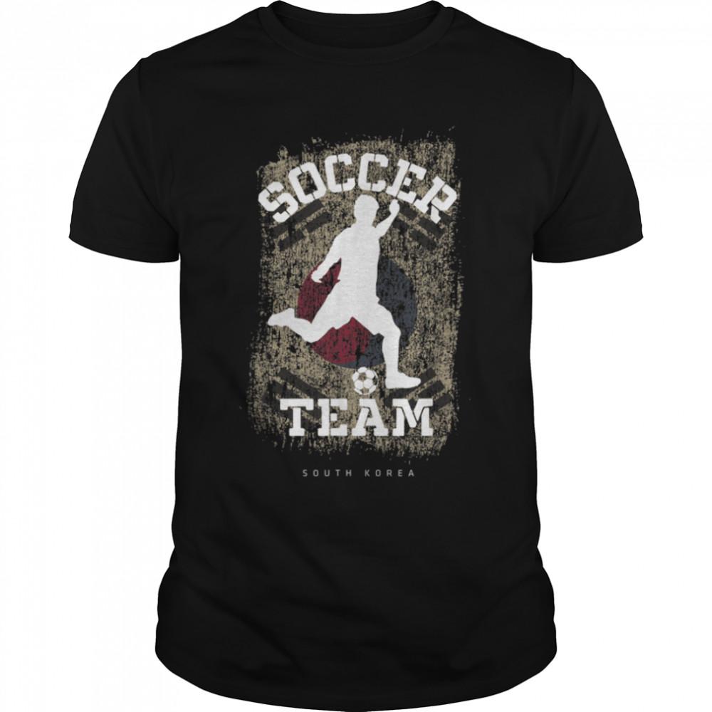 Soccer South Africa Flag Football Team Soccer Player T-Shirt B09JPCZ73D