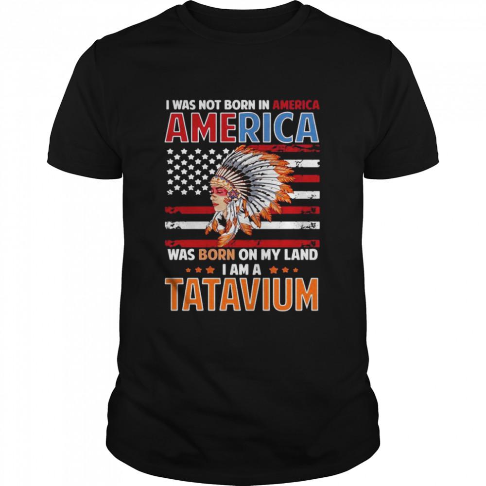 Tatavium Native American Girl Tatavium Female Related T-shirt